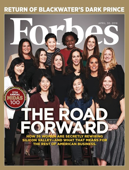 Forbes Cover - 4/30/2018