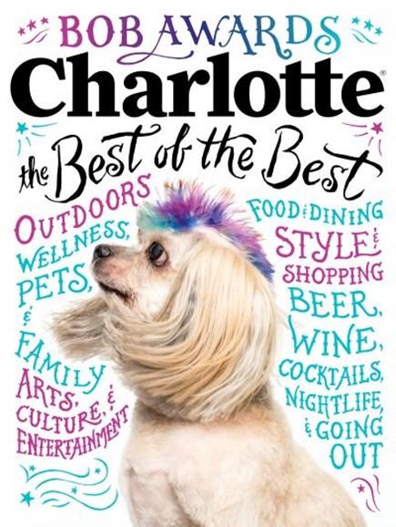 Charlotte Magazine Cover - 5/1/2018