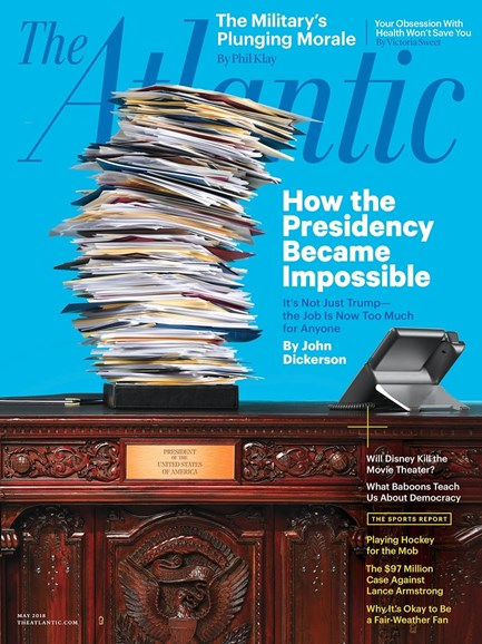 The Atlantic Cover - 5/1/2018