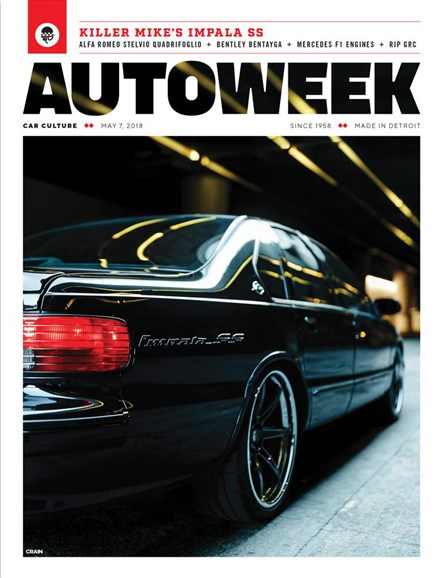 Autoweek Cover - 5/7/2018