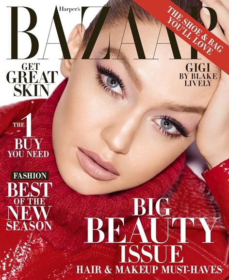 Harper's Bazaar Cover - 5/1/2018