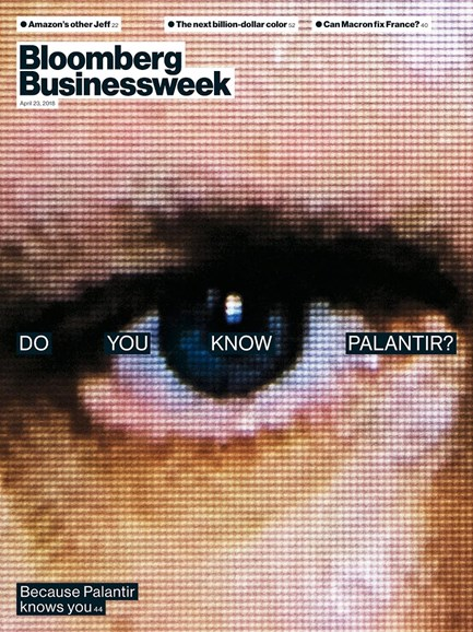 Bloomberg Businessweek Cover - 4/23/2018