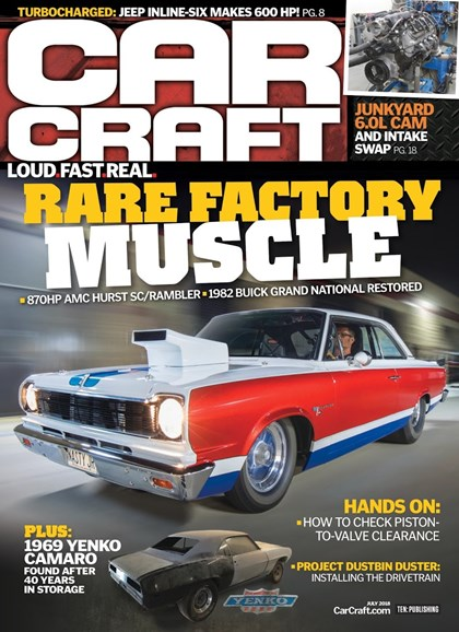 Car Craft Cover - 7/1/2018