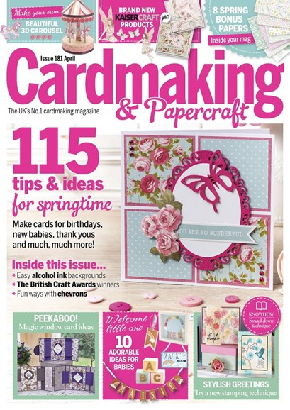 CardMaking & PaperCrafts Cover - 4/1/2018
