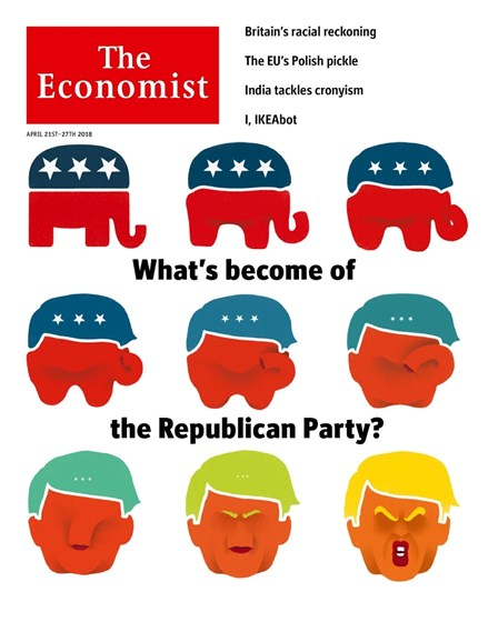 The Economist Cover - 4/21/2018