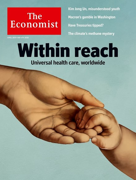 The Economist Cover - 4/28/2018