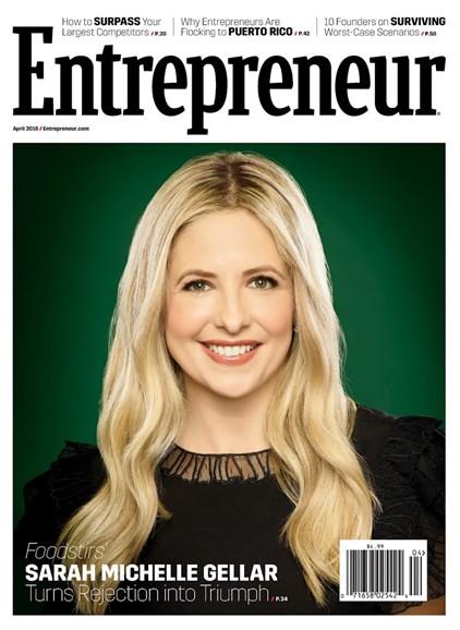 Entrepreneur Cover - 4/1/2018