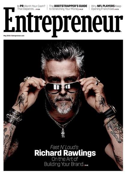 Entrepreneur Cover - 5/1/2018