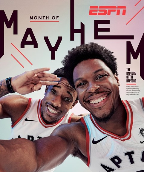 ESPN The Magazine Cover - 5/7/2018