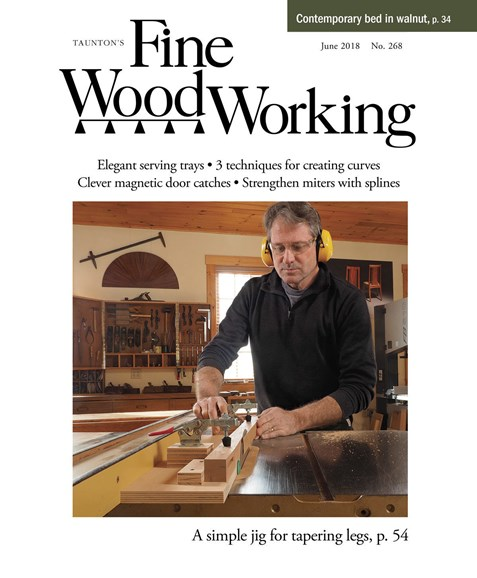 Fine Woodworking Cover - 6/1/2018