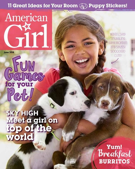 American Girl Cover - 5/1/2018