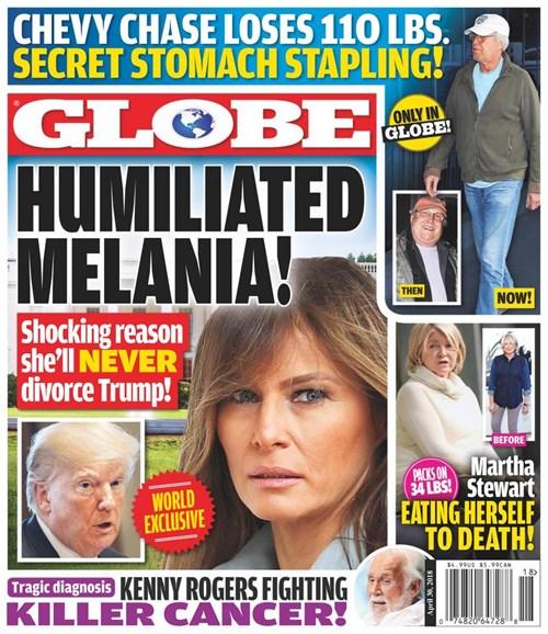 Globe Cover - 4/30/2018