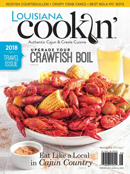 Louisiana Cookin' Cover - 5/1/2018