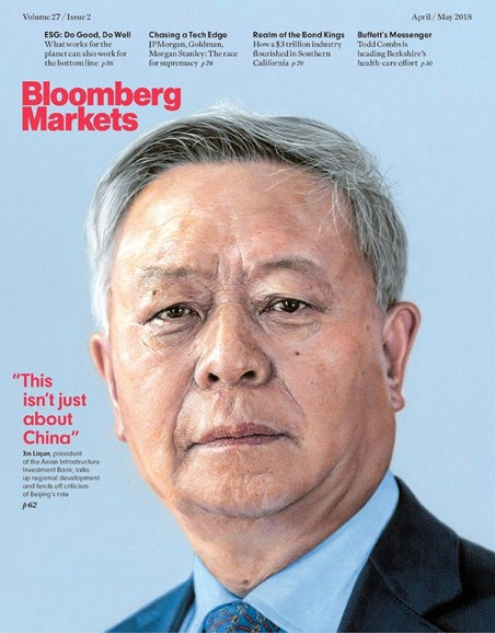 Bloomberg Markets Cover - 4/1/2018