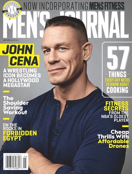 Men's Journal Cover - 5/1/2018