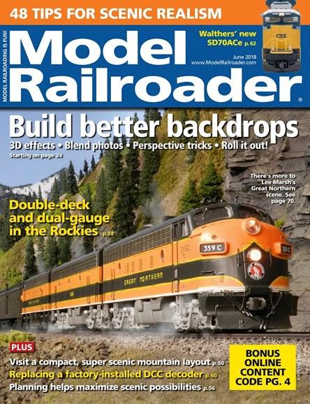 Model Railroader Cover - 6/1/2018