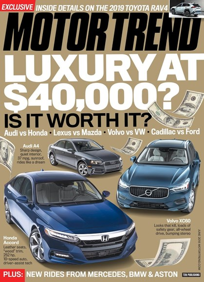 Motor Trend Cover - 6/1/2018