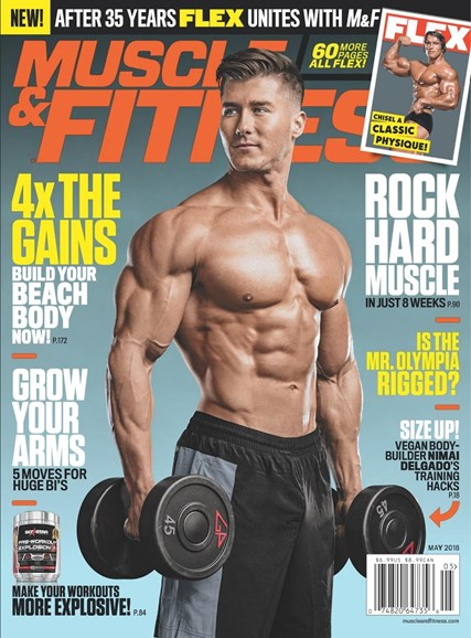 Muscle & Fitness Cover - 5/1/2018