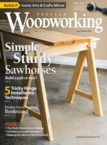 Popular Woodworking Cover - 7/1/2018