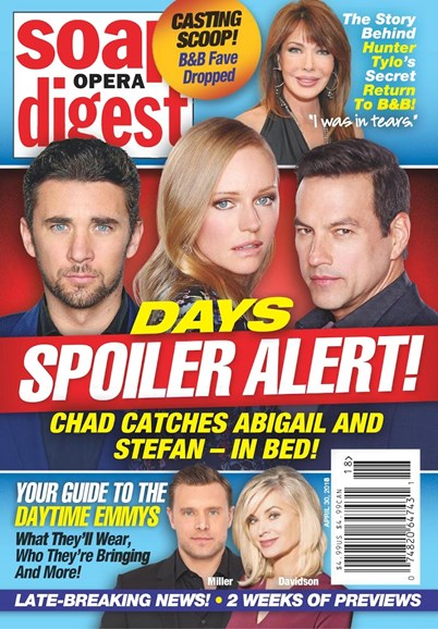 Soap Opera Digest Cover - 4/30/2018
