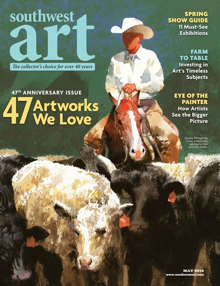 Southwest Art Cover - 5/1/2018