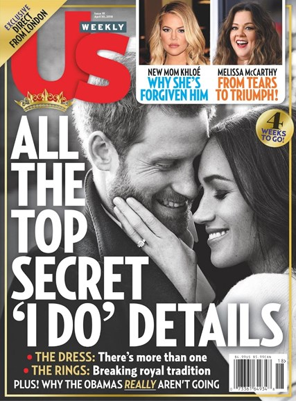 Us Weekly Cover - 4/30/2018