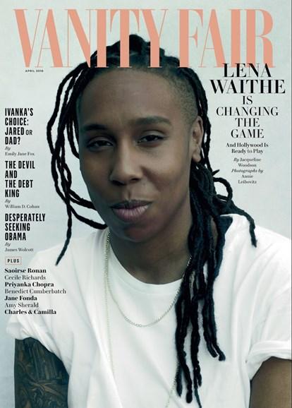 Vanity Fair Cover - 4/1/2018