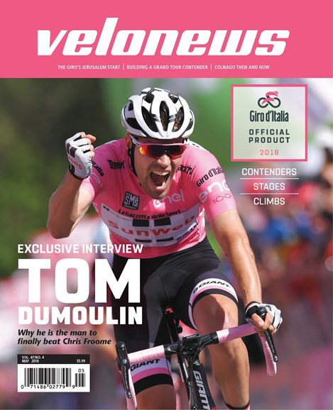 VeloNews Cover - 5/1/2018
