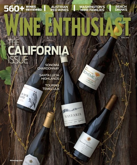 Wine Enthusiast Cover - 6/1/2018