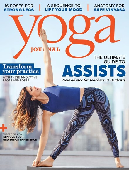 Yoga Journal Cover - 5/1/2018