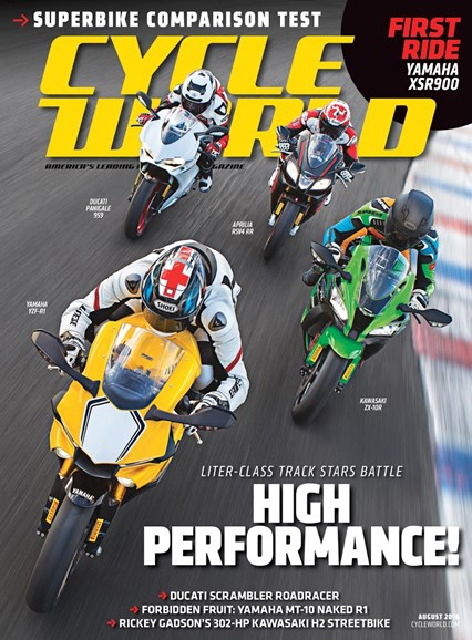 Cycle World Cover - 8/1/2016