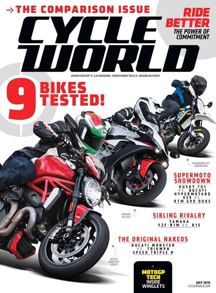 Cycle World Cover - 7/1/2016