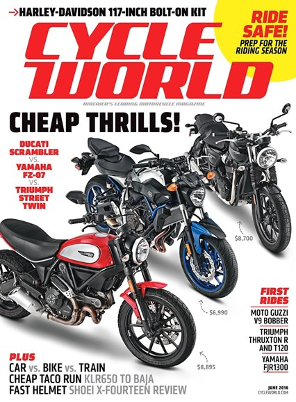 Cycle World Cover - 6/1/2016