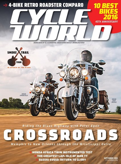Cycle World Cover - 9/1/2016