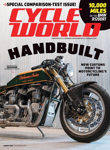 Cycle World Cover - 8/1/2015