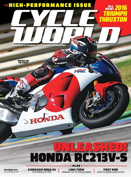 Cycle World Cover - 12/1/2015