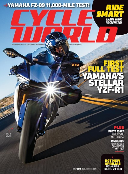 Cycle World Cover - 7/1/2015
