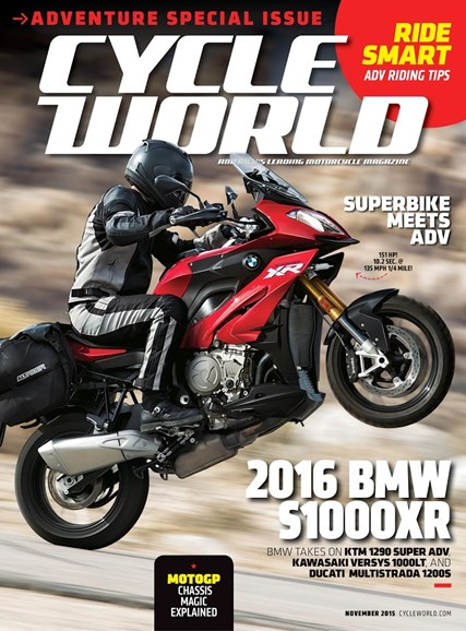 Cycle World Cover - 11/1/2015
