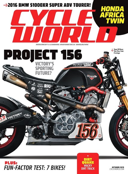 Cycle World Cover - 10/1/2015