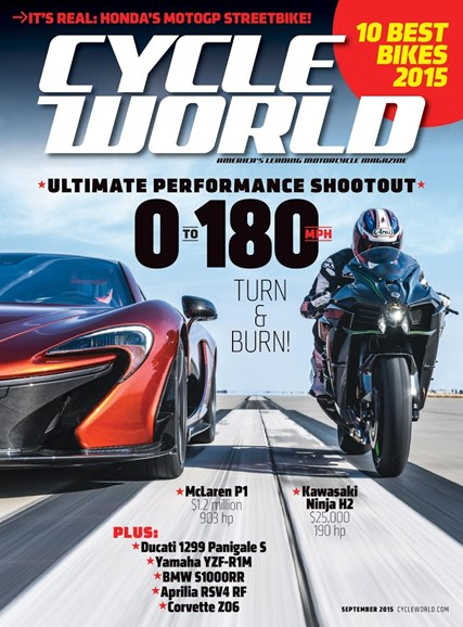 Cycle World Cover - 9/1/2015