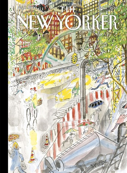The New Yorker Cover - 5/7/2018