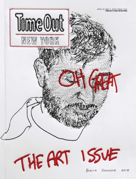 Time Out New York Cover - 4/25/2018