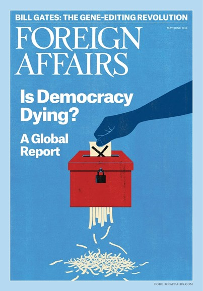 Foreign Affairs Cover - 5/1/2018