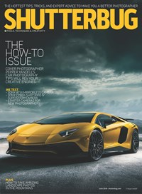 Shutterbug Magazine | 6/1/2018 Cover