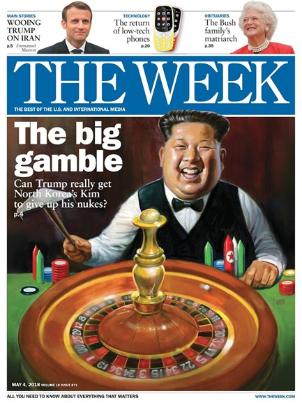 The Week Cover - 5/4/2018