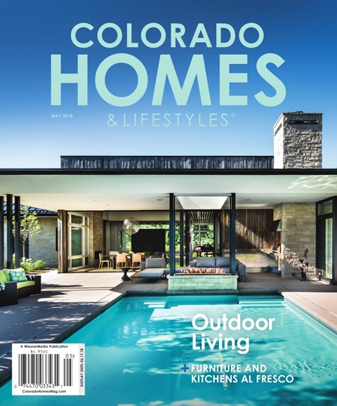 Colorado Homes & Lifestyles Cover - 5/1/2018