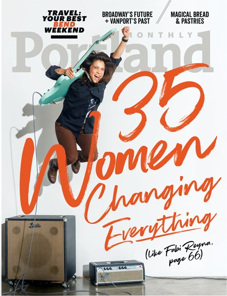 Portland Monthly Cover - 5/1/2018