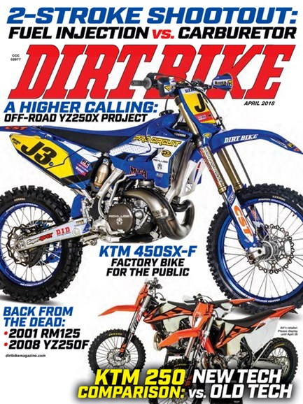 Dirt Bike Cover - 4/1/2018