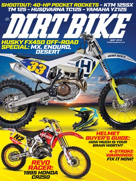 Dirt Bike Cover - 5/1/2018