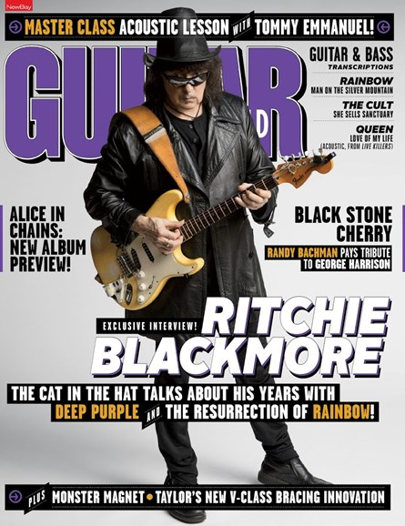 Guitar World Cover - 6/1/2018